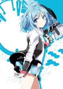 Rating: Safe Score: 44 Tags: gakusentoshi_asterisk gun okiura sasamiya_saya User: zyll