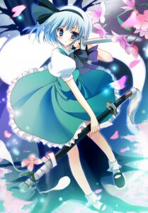 Rating: Safe Score: 22 Tags: konpaku_youmu mamita sword touhou User: fireattack