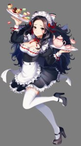 Rating: Safe Score: 77 Tags: cleavage heels maid thighhighs transparent_png waitress yuri_(anachronic) User: Mr_GT