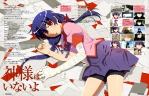 Rating: Safe Score: 22 Tags: bakemonogatari bandages bike_shorts kanbaru_suruga matsuura_riki seifuku User: drop