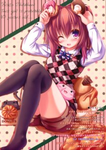 Rating: Safe Score: 41 Tags: fukuneko-mofmof syroh thighhighs User: crim