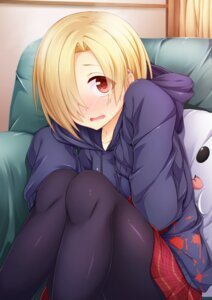 Rating: Safe Score: 44 Tags: pantyhose shirasaka_koume the_idolm@ster the_idolm@ster_cinderella_girls wakagi_repa User: Mr_GT