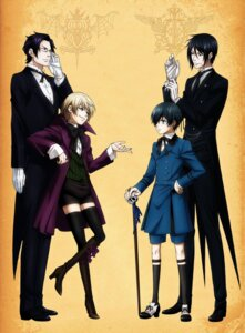 Rating: Safe Score: 10 Tags: alois_trancy ciel_phantomhive claude_faustus kuroshitsuji male megane sebastian_michaelis User: alimilena