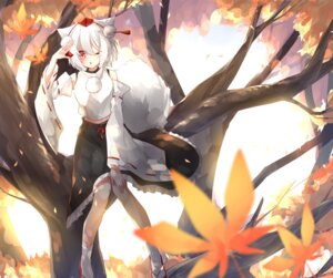 Rating: Safe Score: 20 Tags: animal_ears go_(mitukan0502) inubashiri_momiji tail touhou User: Mr_GT