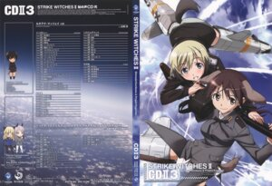 Rating: Questionable Score: 7 Tags: disc_cover erica_hartmann gertrud_barkhorn overfiltered strike_witches takamura_kazuhiro User: fireattack