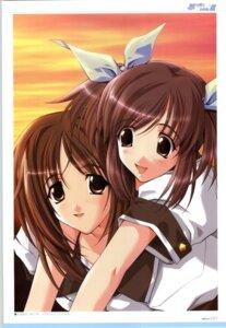 Rating: Safe Score: 6 Tags: kashima_mifu kashima_neo memories_off omoide_ni_kawaru_kimi_memories_off sasaki_mutsumi User: admin2