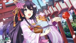 Rating: Safe Score: 41 Tags: date_a_live kimono tagme wallpaper yatogami_tooka User: kiyoe