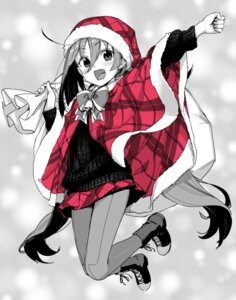 Rating: Safe Score: 39 Tags: christmas kantai_collection kawakami_rokkaku pantyhose sweater User: nphuongsun93