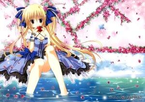Rating: Safe Score: 54 Tags: cleavage dress korie_riko mujin_shoujo User: Twinsenzw