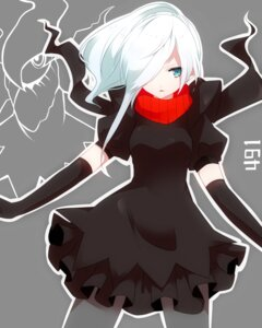 Rating: Safe Score: 41 Tags: anthropomorphization darkrai dress pokemon takeshima_(nia) User: charunetra