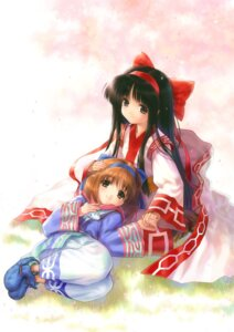 Rating: Safe Score: 16 Tags: goto-p nakoruru rimururu samurai_spirits User: fireattack