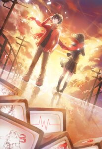 Rating: Safe Score: 11 Tags: domik kagerou_project kisaragi_shintarou seifuku tateyama_ayano User: Zenex