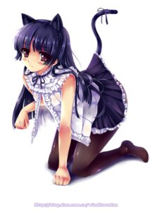 Rating: Questionable Score: 74 Tags: animal_ears gokou_ruri gothic_lolita lolita_fashion nekomimi ore_no_imouto_ga_konnani_kawaii_wake_ga_nai pantyhose tail windforcelan User: fireattack