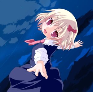Rating: Safe Score: 7 Tags: hujikok machily rumia touhou User: konstargirl