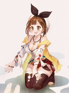 Rating: Safe Score: 16 Tags: atelier atelier_ryza cleavage orry reisalin_stout thighhighs User: Dreista