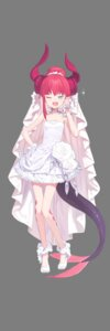 Rating: Safe Score: 42 Tags: cleavage dress fate/extra fate/extra_ccc fate/stay_night horns lancer_(fate/extra_ccc) pointy_ears tail transparent_png wedding_dress User: Thatman