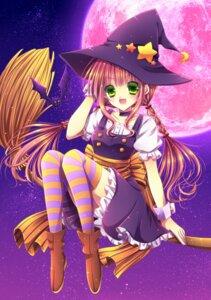 Rating: Safe Score: 14 Tags: momomiya_mion thighhighs witch User: blooregardo