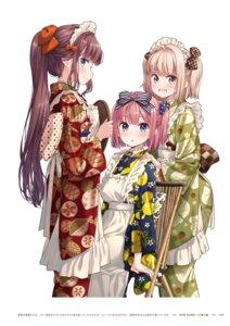 Rating: Questionable Score: 8 Tags: iijima_yun mochizuki_momiji new_game! takimoto_hifumi tokunou_shoutarou User: kiyoe