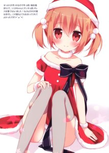 Rating: Safe Score: 19 Tags: christmas dress hoshi pantsu silica sword_art_online tagme thighhighs User: Radioactive