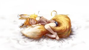 Rating: Safe Score: 32 Tags: animal_ears jaco kitsune sweater tail User: nphuongsun93