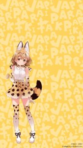 Rating: Safe Score: 16 Tags: animal_ears fly kemono_friends serval tail thighhighs User: animeprincess