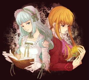 Rating: Safe Score: 8 Tags: claire_bernardus dress lolita_fashion tim_(tim411) umineko_no_naku_koro_ni ushiromiya_lion User: ghoulishWitchhx