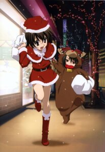 Rating: Safe Score: 21 Tags: christmas kiyoura_setsuna saionji_sekai school_days User: acas