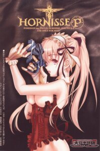 Rating: Questionable Score: 24 Tags: breasts choco chocolate_shop gun lingerie User: Radioactive