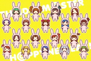 Rating: Safe Score: 7 Tags: akizuki_ritsuko akizuki_ryou_(idolm@ster) amami_haruka animal_ears bunny_ears chibi ech futami_ami futami_mami ganaha_hibiki hagiwara_yukiho hidaka_ai hoshii_miki kikuchi_makoto kisaragi_chihaya minase_iori miura_azusa mizutani_eri otonashi_kotori sakurai_yumeko shijou_takane takatsuki_yayoi the_idolm@ster the_idolm@ster_2 User: Nekotsúh
