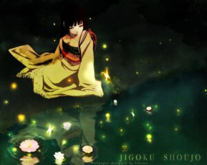 Rating: Safe Score: 15 Tags: enma_ai jigoku_shoujo kimono wallpaper User: degeneric