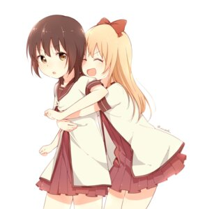 Rating: Safe Score: 17 Tags: bafarin funami_yui seifuku toshinou_kyouko yuru_yuri User: Spidey