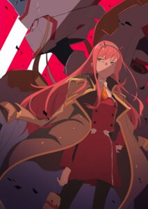 Rating: Safe Score: 23 Tags: darling_in_the_franxx horns mecha pantyhose strelizia tagme uniform zero_two_(darling_in_the_franxx) User: charunetra