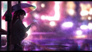 Rating: Safe Score: 27 Tags: heels landscape oright seifuku umbrella User: Spidey