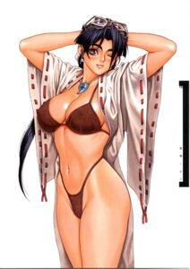 Rating: Questionable Score: 23 Tags: bikini cleavage erect_nipples miko open_shirt psikyo sengoku_ace sengoku_blade swimsuits togashi_koyori tsukasa_jun User: Umbigo