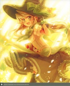 Rating: Safe Score: 23 Tags: crown elf pointy_ears thighhighs witch yashiro_seika User: petopeto