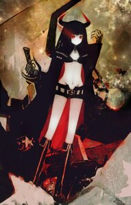Rating: Safe Score: 13 Tags: bikini_top black_gold_saw black_rock_shooter ta_(shyura) vocaloid User: Radioactive