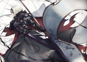 Rating: Safe Score: 22 Tags: armor fate/grand_order jeanne_d'arc jeanne_d'arc_(alter)_(fate) marumoru sword User: Dreista
