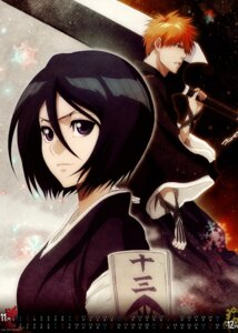 Rating: Safe Score: 16 Tags: bleach calendar kuchiki_rukia kurosaki_ichigo sword User: Radioactive