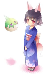 Rating: Safe Score: 14 Tags: animal_ears hasaha kimono kitsune masaki_(machisora) summon_night summon_night_2 tail User: 椎名深夏