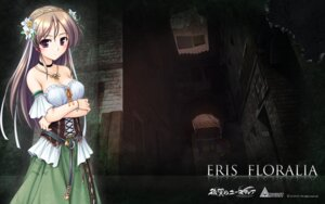 Rating: Safe Score: 29 Tags: aiyoku_no_eustia august bekkankou cleavage dress eris_floralia wallpaper User: Devard