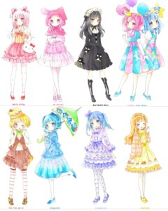 Rating: Safe Score: 21 Tags: dress gothic_lolita heels hello_kitty lolita_fashion pantyhose stockings tagme thighhighs umbrella User: Radioactive