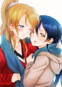 Rating: Safe Score: 19 Tags: ayase_eli lilylion26 love_live! sonoda_umi User: charunetra