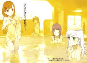 Rating: Questionable Score: 23 Tags: bathing index itsuwa misaka_mikoto naked to_aru_majutsu_no_index towel User: clover