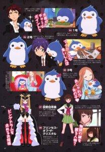 Rating: Safe Score: 10 Tags: mawaru_penguindrum oginome_ringo penguin takakura_himari takakura_kanba takakura_shouma User: SubaruSumeragi