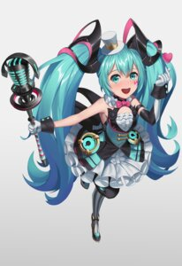 Rating: Safe Score: 11 Tags: hatsune_miku kurosara magical_mirai vocaloid User: Dreista