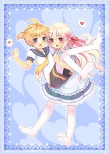 Rating: Safe Score: 27 Tags: kagamine_len kozakura_mary tsubasa_tsubasa vocaloid User: Radioactive