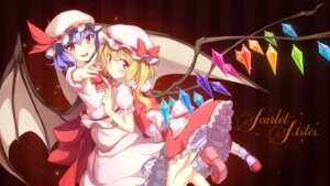Rating: Safe Score: 23 Tags: dress flandre_scarlet remilia_scarlet shinonome_haru touhou wings User: dyj