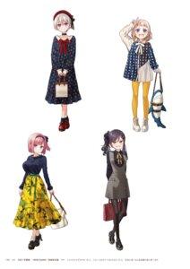 Rating: Questionable Score: 8 Tags: dress hoshikawa_hotaru mochizuki_momiji narumi_tsubame new_game! pantyhose sakura_nene tokunou_shoutarou User: kiyoe