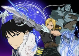 Rating: Safe Score: 3 Tags: alphonse_elric edward_elric fullmetal_alchemist male roy_mustang User: charunetra