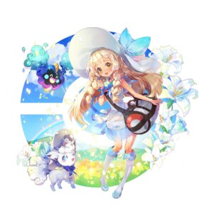 Rating: Safe Score: 10 Tags: alolan_vulpix cosmog cpcpcp05 dress lillie_(pokemon) pokemon see_through User: BattlequeenYume